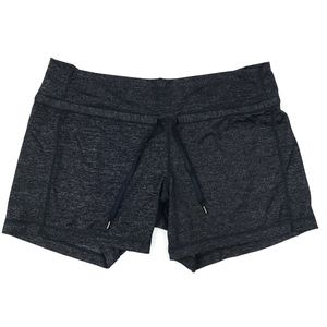 Lululemon Heather Grey Knock Out Athletic Shorts